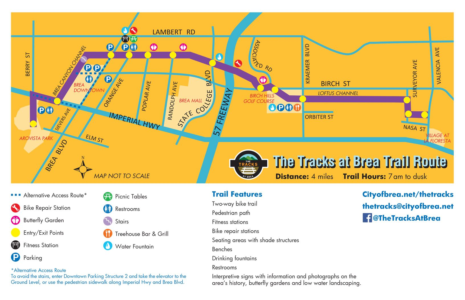 The Tracks Map