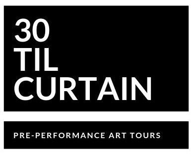 30 til Curtain Logo